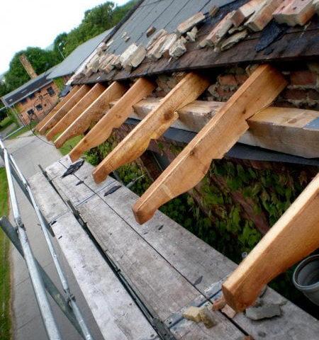 Dachstuhl Restaurierung
