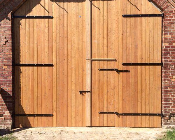 Holztor von Unternehmen Holzbau Jenss